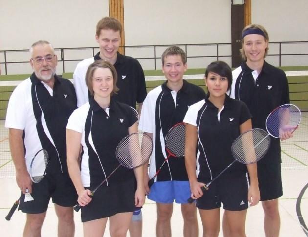 Unser Team 2010: Rainer Eberhardt, Julia Schmid, Tobias Lukasch, Felix Guffler, Daniela Weinhold, Michael Mair.