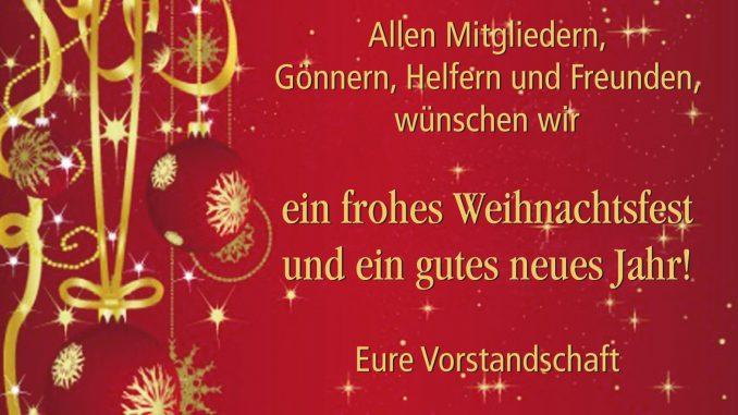 Frohe Weihnachten An Freunde.Frohe Weihnachten 2018 Tsv 1960 Herbertshofen E V